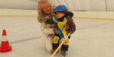 1,5-річна дитина встановила рекорд України з льодового виду спорту