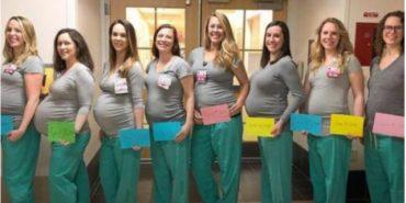 В медичному центрі США одночасно завагітніли 9 медсестер