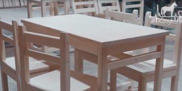 """Коломийські підприємці зробили меблі для їдальні """"Карітасу"""", в якій харчуються нужденні. ВІДЕО"""
