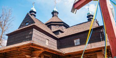 Фото. У Коломиї тривають активні роботи з реконструкції Благовіщенської церкви