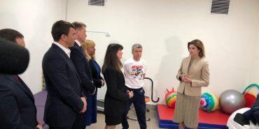 Марина Порошенко ознайомилася з роботою Інклюзивно-ресурсного центру у Коломиї. ФОТО