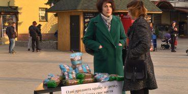 """""""Не продавай свій голос за гречку"""": коломийські студенти закликали прийти на вибори. ВІДЕО"""