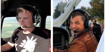 Дмитро Комаров та Ігор Табанюк запрошують молодь відзначити День авіації в Коломиї