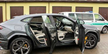 У Польщі затримали українця на краденому Lamborghini вартістю 9,8 млн грн. ФОТО
