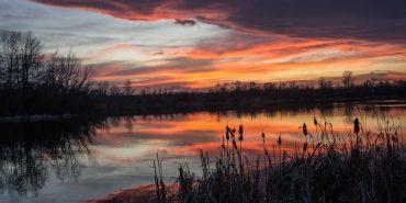 Надвечір'я на коломийському озері в об'єктиві Яреми Проціва