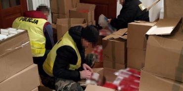 У Польщі викрили незаконну фабрику цигарок, де працювали українці