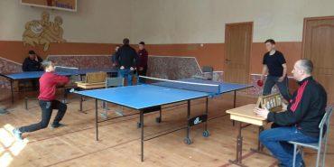 На Коломийщині визначилися переможці районних змагань з настільного тенісу. ФОТО