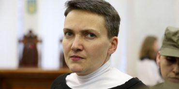 Надію Савченко випустили з-під варти у залі суду