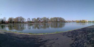 В Коломиї облаштували нові пішохідні доріжки біля міського озера. ФОТО
