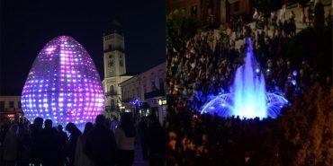 Сьогодні у середмісті Коломиї запустять світло-музичний фонтан та засвітять 3D писанку. АНОНС