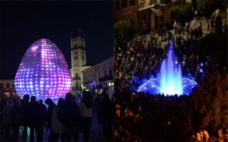 Завтра у середмісті Коломиї запустять світло-музичний фонтан та засвітять 3D писанку. АНОНС