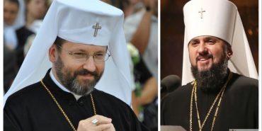 Глави Православної та Греко-Католицької церкви України привітали українців з Пасхою
