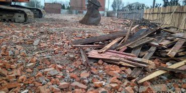 Ще одна територія по вул. Коцюбинського розчищена для нового будівництва