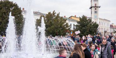 Триває голосування за краще фото біля фонтана у Коломиї
