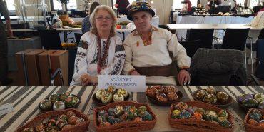 Відомий писанкар з Коломиї представив свої роботи на виставці у Німеччині. ФОТО