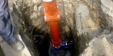 У Коломиї встановлюють сучасні наземні пожежні гідранти. ФОТО