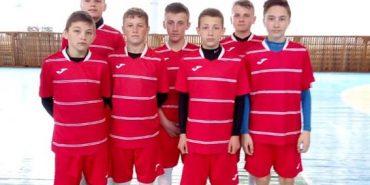 Коломийські спортсмени стали третіми на всеукраїнських іграх з міні-футболу