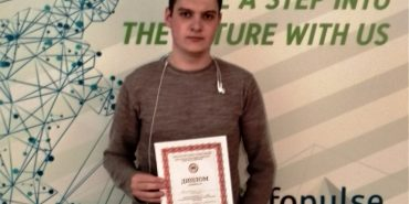 Майбутні програмісти з Прикарпаття здобули 3-тє місце на всеукраїнському конкурсі. ФОТО