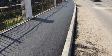 Біля Торговиці у Коломиї відремонтували тротуар. ФОТО