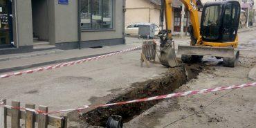 На вул. Коновальця у Коломиї розпочали реконструкцію водогону. ФОТОФАКТ