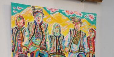 """""""Священна Гуцульщина"""". У Івано-Франківську відкрили виставку майже 50 картин про гуцулів. ФОТО"""