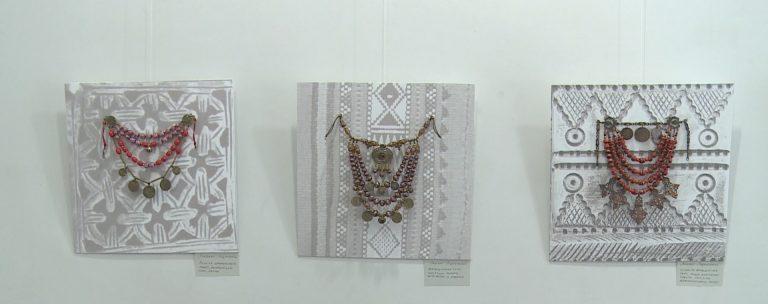 Поєднання гуцульської, ефіопської, індійської культур: у Коломиї відкрили виставку намист. ВІДЕО