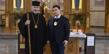 Міністр закордонних справ Павло Клімкін відвідав Катедральний собор у Коломиї. ФОТО