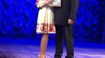 Учениця з Коломийщини отримала нагороду від Президента України за перемогу в конкурсі імені Петра Яцика