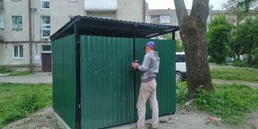 На вулицях Коломиї встановили нові сміттєві майданчики