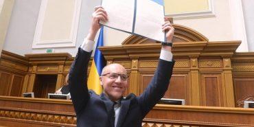 Андрій Парубій підписав закон про українську мову як державну