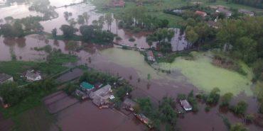 Півтисячі будинків на Прикарпатті досі у воді. ДСНС моніторить наслідки підтоплення. ФОТО