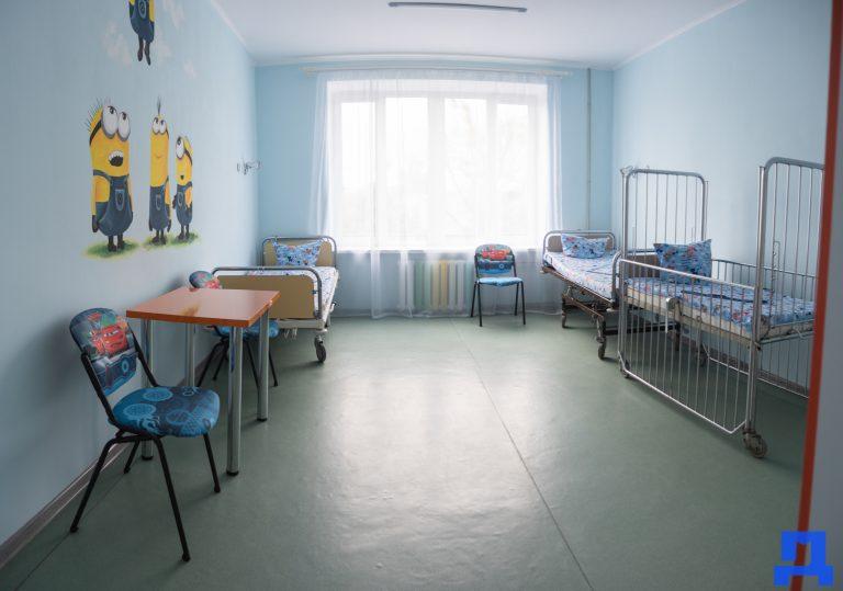 У Коломийській дитячій лікарні відремонтували педіатричне відділення, вперше за півстоліття. ФОТО