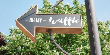 """За гонконгськими вафлями в """"Oh My Waffle"""". Подружжя з Коломиї створили оригінальну концепцію закладу"""