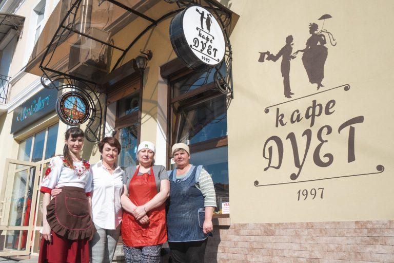 """""""Дует"""" – заклад з 20-річною історією: люди, які творять """"Свідомий бізнес"""" у Коломиї. ФОТО"""