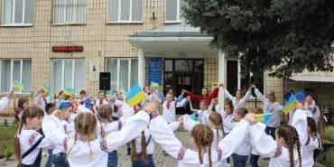 У Печеніжині поєднали День вишиванки та День Європи у єдиний флешмоб