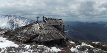 На висоті 1600 метрів на масиві Свидовець розташувалась старовинна колиба. ФОТО