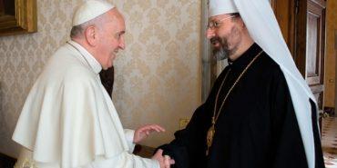 Папа Римський запрошує перших осіб УГКЦ до опрацювання своєї стратегії щодо майбутнього України та Української Церкви у світі